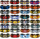leather football bracelet team color NFL PICK YOUR TEAM gamewear $7.73 USD on eBay