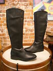 Hot in Hollywood Black Leather Riding Boots New