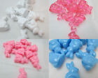 40 Novelty 25mm Bunny Pony Beads - Color Choice