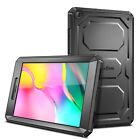 Dual Layer Rugged Impact Bumper Cover Case For Samsung Galaxy Tab Tablet