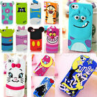 Cute 3D Cartoon Disney Sailor Moon Silicone Soft Case Cover For iPhone 5/5S