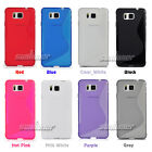 Silicone TPU Rubber Gel Case Skin Cover for Samsung Galaxy Alpha, G850T T-Mobile