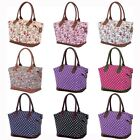 Ladies Womens Large Weekend Shoulder Maternity Overnight Travel Holdall Bag