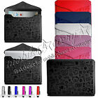 Stylish Leather Carry Case Cover Sleeve Pouch for Apple iPad Air & iPad Air 2