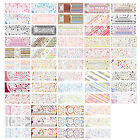 ST31 1 Sheet, 6 Sheets 3-in-1 Nail Art Water Transfers Decals-HOT001-057