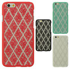 For Apple iPhone 6 4.7 TPU SKEW LACE GUMMY Hard Skin Case Phone Cover Accessory