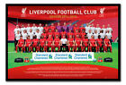 Liverpool FC Team Photo 2014 / 2015 Poster Magnetic Notice Board Inc Magnets
