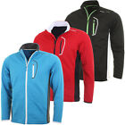 Stuburt 2015 Mens Sport Lite Full Zip Bonded Fleece Sweater Golf Wind Top