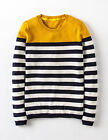 Boden Women's Brand New Brigitte Jumper  Navy/Ivory Stripe