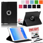 For Apple iPad Air 2 Folio Flip Cover PU Leather Smart Case 360 Degree Rotatable
