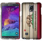 For Samsung Galaxy Note 4 Rubberized HARD Protector Case Phone Cover Accessory