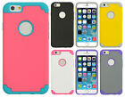 For Apple iPhone 6 / 6s  HARD Hybrid Rubber Silicone Case Phone Cover Accessory