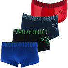 EMPORIO ARMANI BOXER BRIEFS STRETCH COTTON UNDERWEAR (BRAND NEW 100% AUTHENTIC)