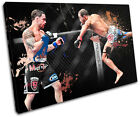 MMA Frankie Edgar Sports SINGLE CANVAS WALL ART Picture Print VA