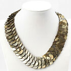 "Women's Necklace 18 inch Shell Disc Necklace with 2"" Extender"