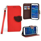Flip Leather Wristlet Card Holder Case New Cover for Samsung Galaxy S4 S5 Note 3