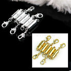 5 x Silver/Gold Plated Tone Magnetic Clasps Jewelry Necklace Findings Buckles