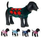 Pet Gift Turtleneck Knit Sweater For Autumn Winter Warm Crochet Dog Clothes