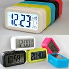 LED Digital Alarm Clock Light Control Backlight Time+Calendar Thermometers EN24H