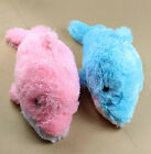 Cute Small Plush Fluffy Romantic Dolphin Doll Toy Pillow Cushions Dolls Gift 2 C