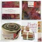 moda Hearts Content batiks jelly roll layer cake or charm pack 100 % cotton