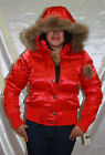 Women's Rocawear Jr Red Shiny Jacket