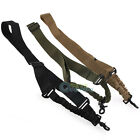 Tactical Adjustable Single Point Sling System Rifle Gun Bungee Strap Cord Hook