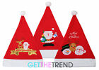 Mens Womens Novelty Father Christmas Hat Unisex Santa Fun Festive Xmas Hat