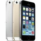 Apple iPhone 5S 16GB-32GB-64GB Smartphone Factory Unlocked Grey-Silver-Gold