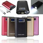 6000mAh Portable External Battery Charger Power Bank Lighter For Mobile Phones