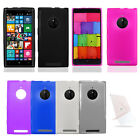 TPU Candy Cover Gel Case + Screen Protector For Nokia Lumia 830
