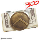 300 Spartan Shield Money Clip in Gift Box New BNIB
