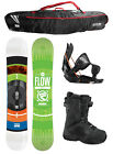 2015 FLOW MERC Brite 162cm WIDE Snowboard+Flow Bindings+Flow BOA Boots+FLOW BAG