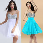 ❤Bling Beaded❤Short Evening Party Bridesmaid Cocktail Prom Homecoming Club Dress