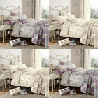 Dreams 'N' Drapes Lila Floral Duvet Cover Set