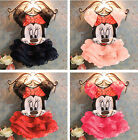 Toddler Baby Girl Minnie Mouse Dress Princess Party Pageant Kids Clothing 2-10Y