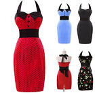 Merry Chistmas~VINTAGE 1950'S RETRO PENCIL WIGGLE PIN UP PARTY DRESS