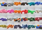 10 Novelty 25mm Lion Pony beads - Color Choice