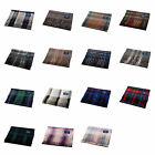 EDINBURGH 100% Cashmere Luxury Tartan Scarf Blue Label Various Colours A