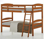 Tripoli Single Bunk Bed Cherry Colour with mattress option NEW
