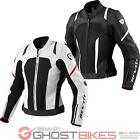 Rev It Galactic Sports Racing Womens Ladies Waterproof Leather Motorcycle Jacket