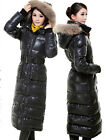 Big sale for Chirstmas Gift Womens Full long parka 90% Down hoodie winter coat