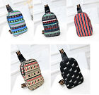 New Women Girl's College School Bags Canvas Chest Bag Shoulder Messenger Bags