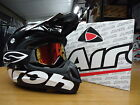 S M L XL New Airoh Jumper Colour Black Helmet/Smith Goggles Motocross Enduro