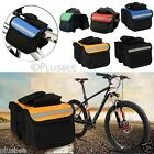 MTB Bike Bicycle Mountain Double Pannier Frame Front Tube Saddle Bag Tube Pouch
