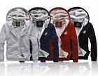 New Men's Hoodie Coat + Pants Sport Suit Set Track Suits Fleece Good Warm Hot