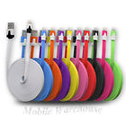 1M FLAT Sync Cable USB Charger Bulk/Wholesale/Job Lot for iPhone iPads 5/5s/5c