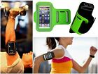 Slim Green Sports Gym Running Armband Pouch Cover For Motorola Droid Turbo