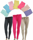 Pencil Tight Leggings with Button/Zipper Closure and Back Pocket