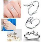 Hot 925 Sterling Fashion Silver Lady Ring Finger Opening Adjustable GIFT New